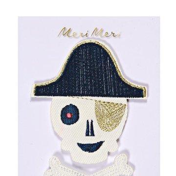 Meri Meri - Naprasowanki Pirat