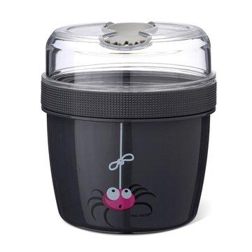 Carl Oscar- N'ice Cup™ L Pojemnik śniadaniowy z wkładem chłodzący Grey - Spider CARL OSCAR