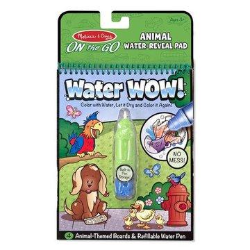 Melissa&Doug® - Melissa, Wodna Kolorowanka Water Wow! Zwierzęta