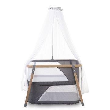 CHILDHOME - Składana kołyska z moskitierą Nacalu Woodlook
