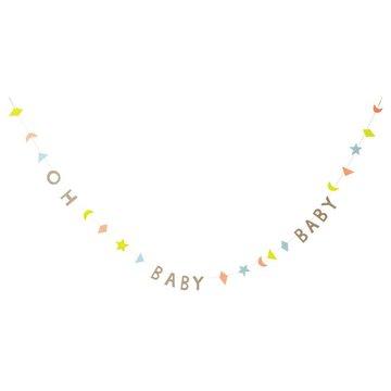 Meri Meri - Mini girlanda Oh Baby