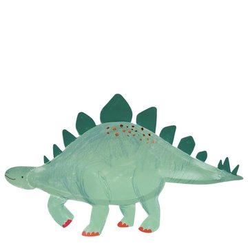 Meri Meri - Talerzyki Stegosaurus Królestwo dinozau ów