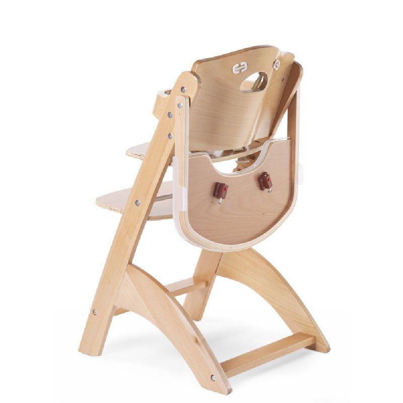 CHILDHOME - Krzesełko do karmienia Lambda 3 Natural