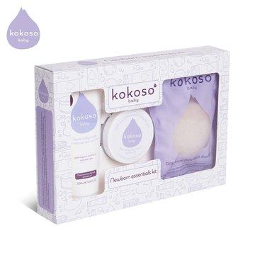 Kokoso Baby Newborn Essentials Kit zestaw prezentowy Kąpiel Noworodka KOKOSO Baby