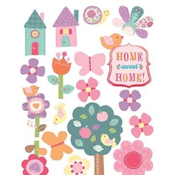 Wallies Naklejki Home Sweet Home