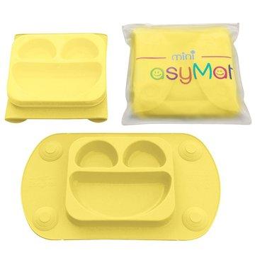EasyTots - EasyMat Mini 2in1 BUTTER silikonowy talerzyk z podkładką - lunchbox EASYTOTS