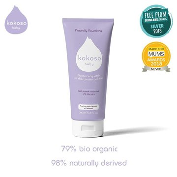 Kokoso Baby Fragranced hair and body wash 200 ml KOKOSO Baby