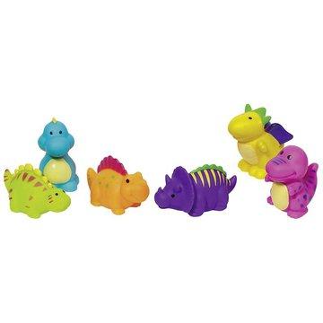 Goki® - Gumowe zwierzątka dinozaury, Goki