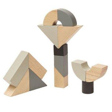 Drewniane klocki zakręcone | Plan Toys