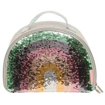 A Little Lovely Company - TERMO lunchbox GLITTER Tęcza
