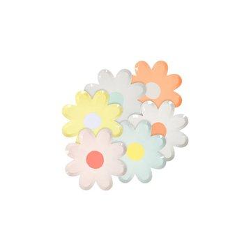 Meri Meri - Mini talerzyki Kwiatki kolorowe