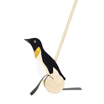 Goki® - Pchacz Pingwin - zabawka do pchania, Goki