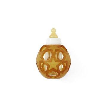 Butelka szklana z kauczukową osłonką w kształcie gwiazdek, HEVEA
