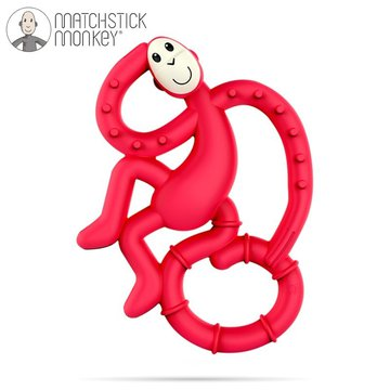 Matchstick Monkey - Matchstick Mini Monkey Red Gryzak Masujący