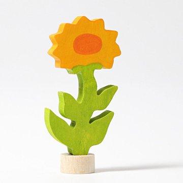 Drewniana figurka, Kwiat Nagietek, Grimm's