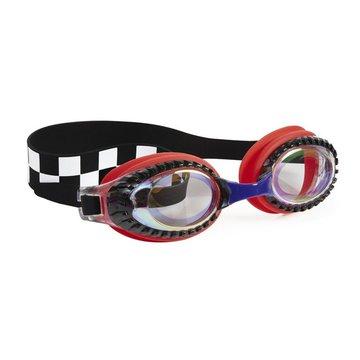 Okulary do pływania, Wyścigi, czerwone, Bling2O Bling2o