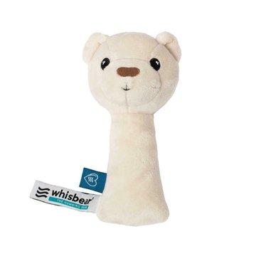 Whisbear - Grzechotka Miś - kremowy