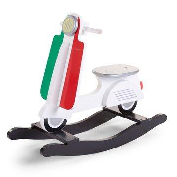 CHILDHOME - Bujak na biegunach skuter Italy