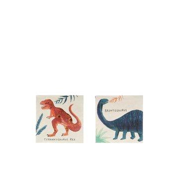 Meri Meri - Małe serwetki Królestwo dinozaurów