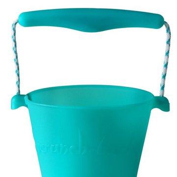 Funkit world - Składane wiaderko do wody i piasku Scrunch Bucket - Turkusowy