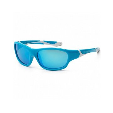 KOOLSUN Okulary SPORT Aqua White 3-8 lat Koolsun