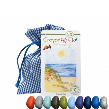 Kredki Crayon Rocks SEASIDE bag - 20 kredek