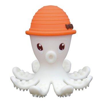 Mombella Gryzak Zabawka Ośmiornica Orange