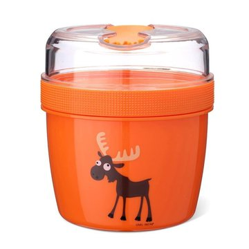 Carl Oscar- N'ice Cup™ L Pojemnik śniadaniowy z wkładem chłodzący Orange - Moose CARL OSCAR