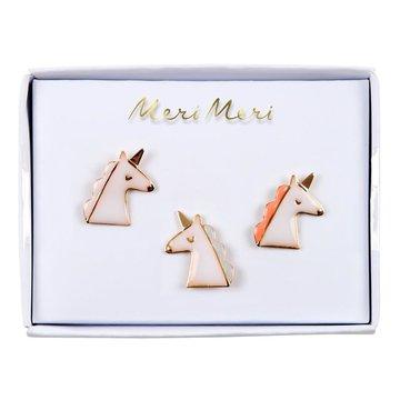 Meri Meri - Przypinki Jednorożec
