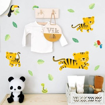 A Little Lovely Company - Naklejki ścienne Tygrysek