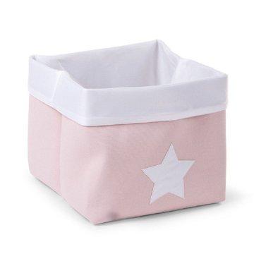 CHILDHOME - Pudełko płócienne 32 x 32 x 29 cm Soft Pink