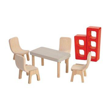 Mebelki dla lalek Jadalnia, Plan Toys PLTO-7348