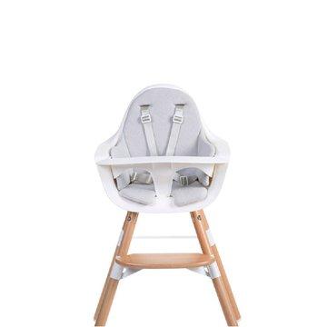 CHILDHOME - Ochraniacz Frotte do krzesełka Evolu 2 Mouse Grey