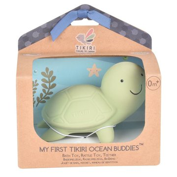 Tikiri - Gryzak zabawka Żółw Ocean w pudełku