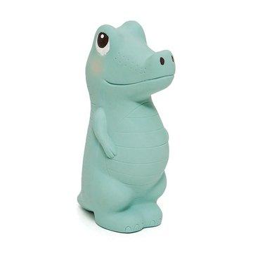 Petit Monkey - Krokodyl Charlie gryzak z grzechotką 100% hevea