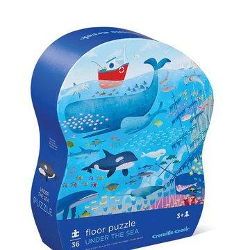 Crocodile Creek® - Puzzle 36 el. motyw podwodny świat