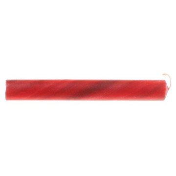 Świece marmurkowe z woskiem pszczelim (25%), czerwone, Grimm's