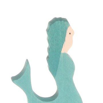 Drewniana figurka, Syrenka, Grimm's