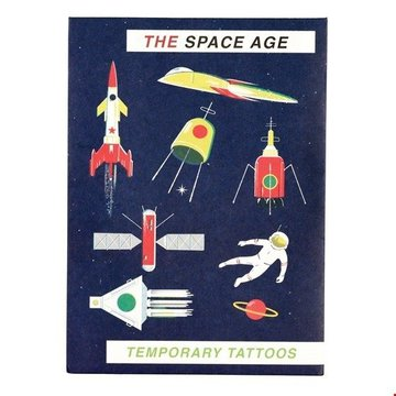Tatuaże zmywalne dla dzieci, Era Kosmiczna, Rex London