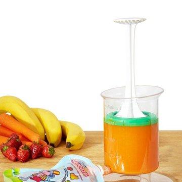 Fill n Squeeze - Pojemnik do napełniania saszetek 5 saszetek i szczoteczka,  Fill'n Squeeze