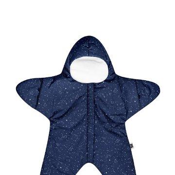 Baby Bites Kombinezon letni Star (3-6 miesięcy) Navy Blue BABY BITES