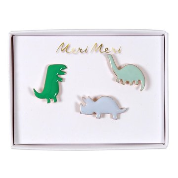 Meri Meri - Przypinki Dinozaur