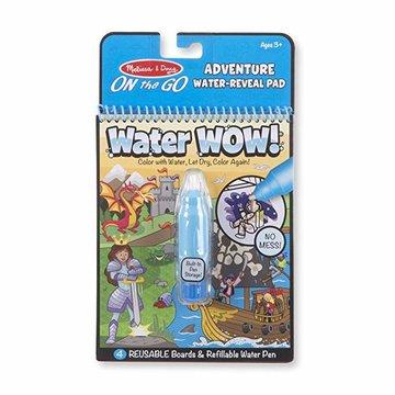 Melissa&Doug® - Melissa, Kolorowanka wodna Water Wow! Przygody