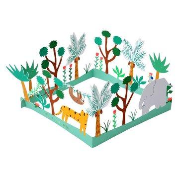 Meri Meri - Mega kartka okolicznościowa 3D Dżungla