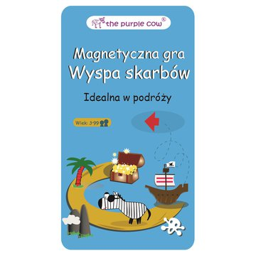 Gra magnetyczna The Purple Cow - Wyspa Skarbów