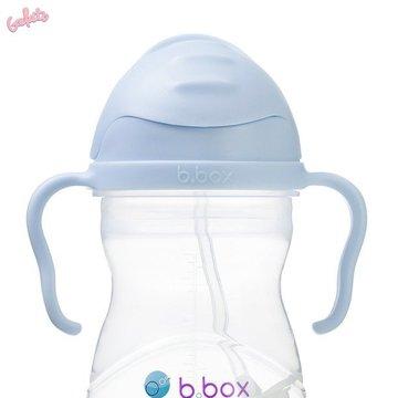 Bidon ze słomką 240 ml, Gelato Bubblegum, b.box