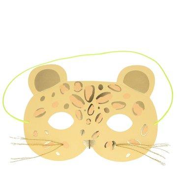 producent niezdefiniowany - Kartka okolicznościowa 3D Maska leopard