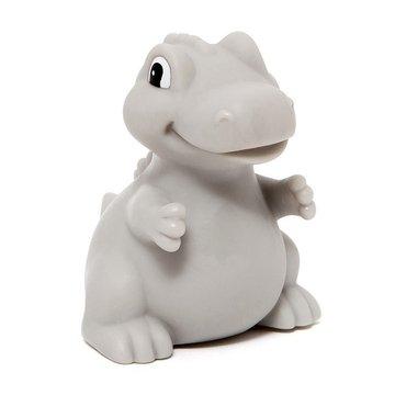 Petit Monkey - Miękka pastelowa lampka nocna LED T-rex szary