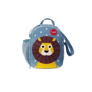 3 Sprouts Lunch Bag Dla Dzieci Lew
