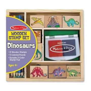 Melissa&Doug® - Melissa Stempelki Dinozaury 4+, MD11633